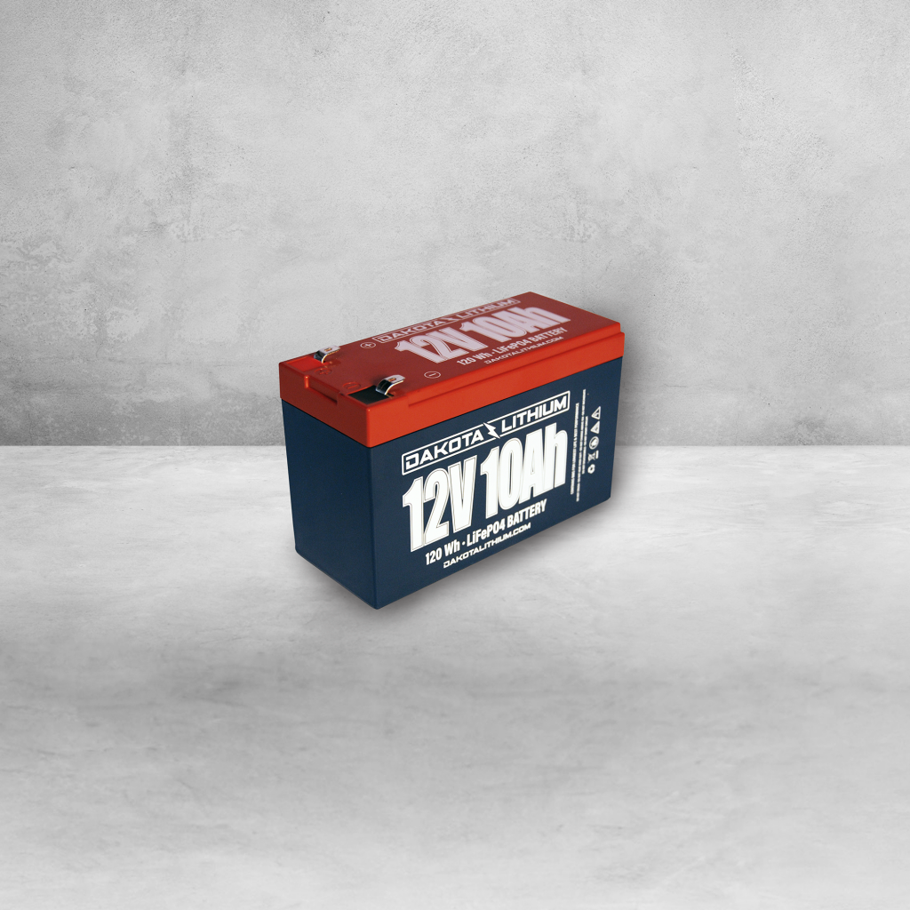 Dakota Lithium 12v 10Ah Battery