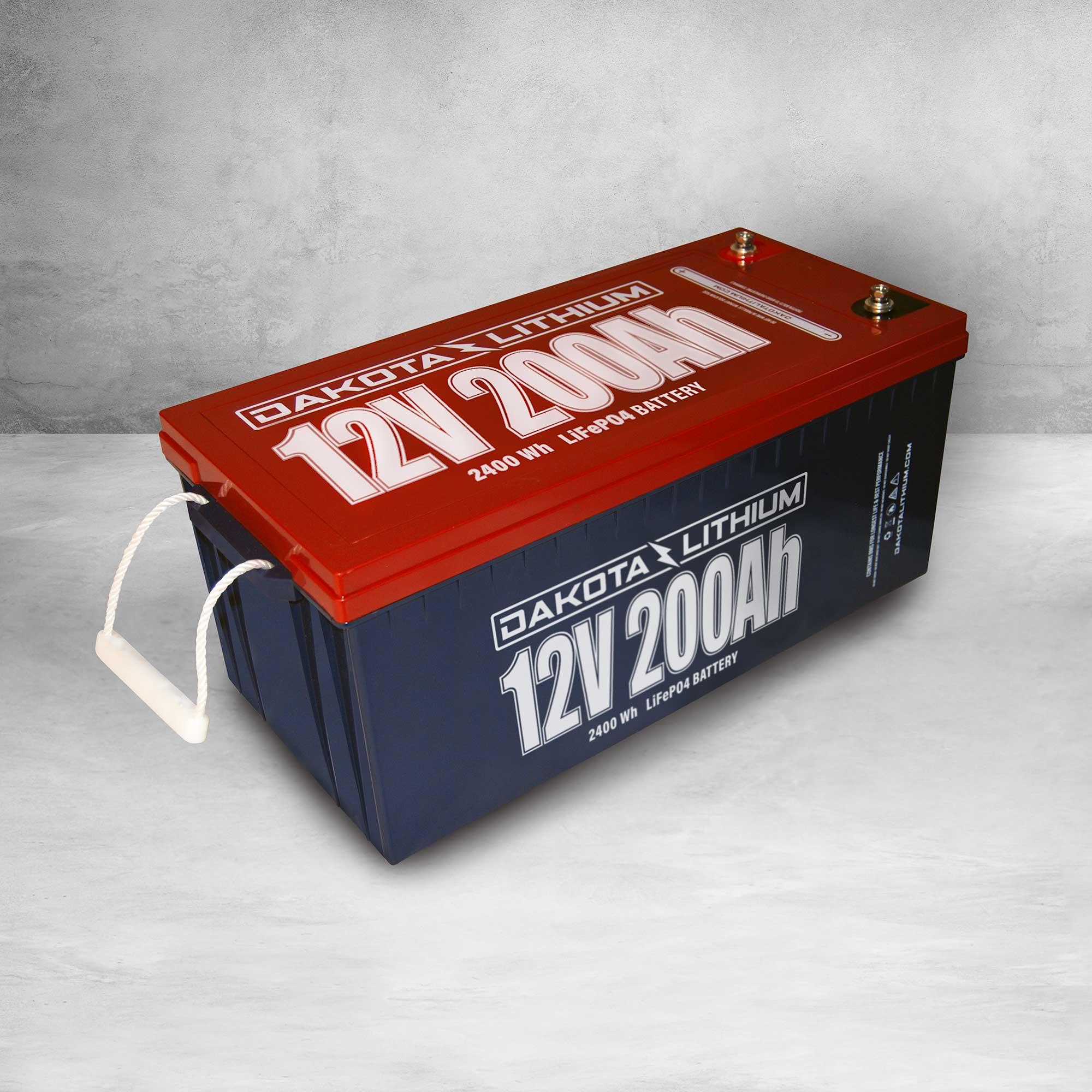 Dakota Lithium 200 Ah 12V LiFePO4 Deep Cycle Battery