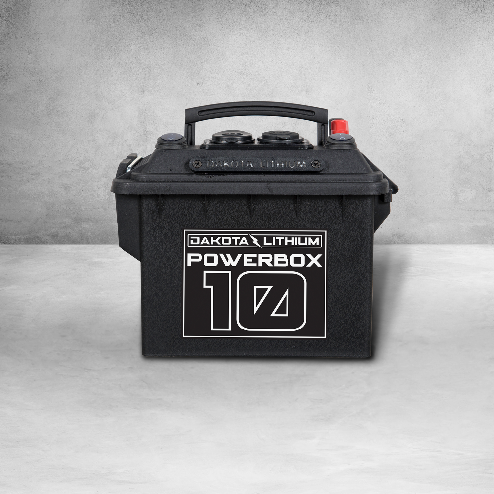 Dakota Lithium Powerbox 10, 12v Battery Included, 10 Ah