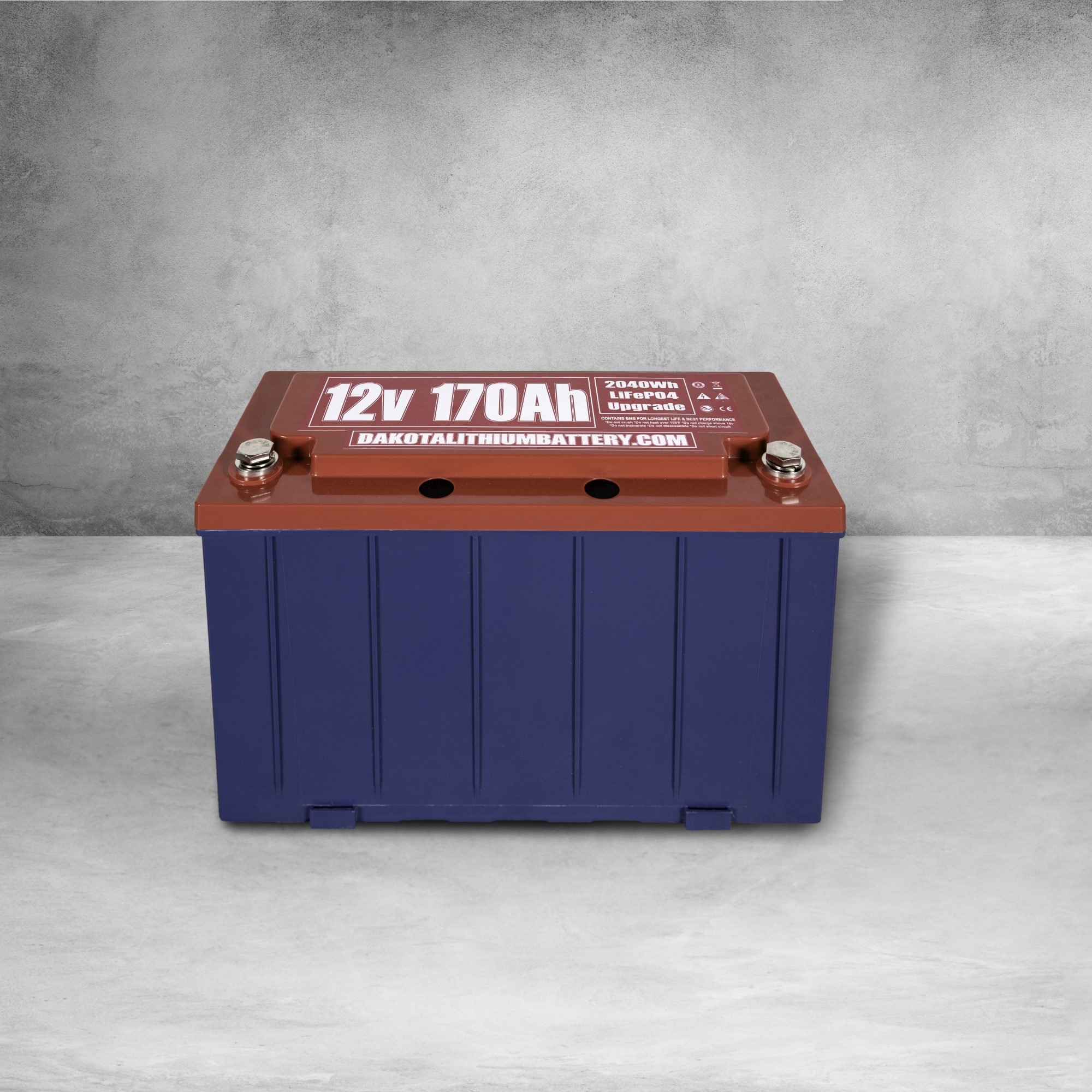 Dakota Lithium 170 Ah 12V LiFePO4 Deep Cycle Battery