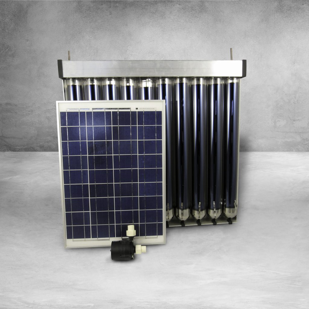 Solar Hot Water Heater Kit