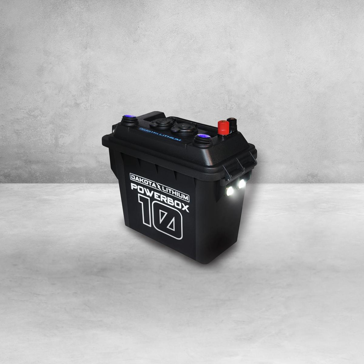 Dakota Lithium Powerbox 10, 12v 10Ah Battery Included