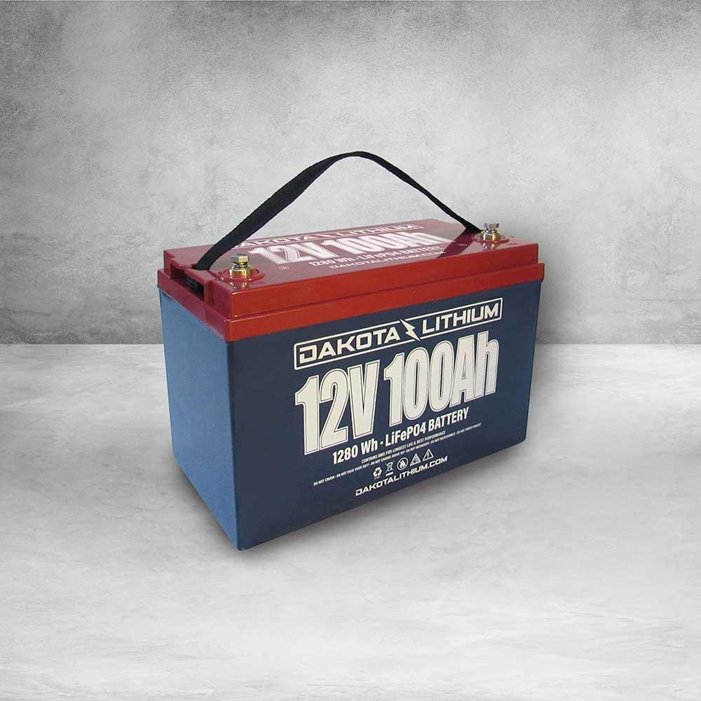 Dakota Lithium 12v 100Ah Deep Cycle LiFePO4 Battery