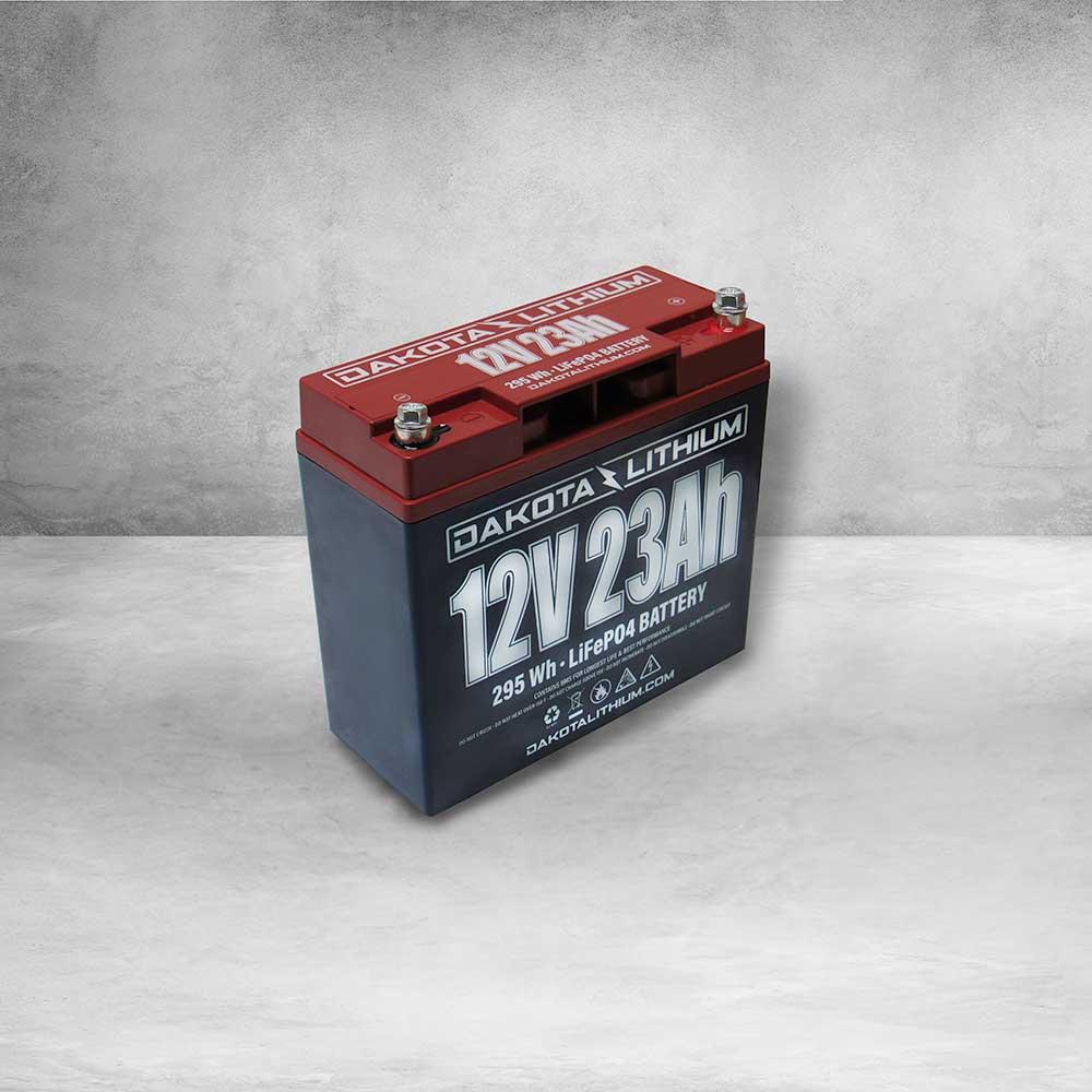Dakota Lithium 12v 23Ah Battery