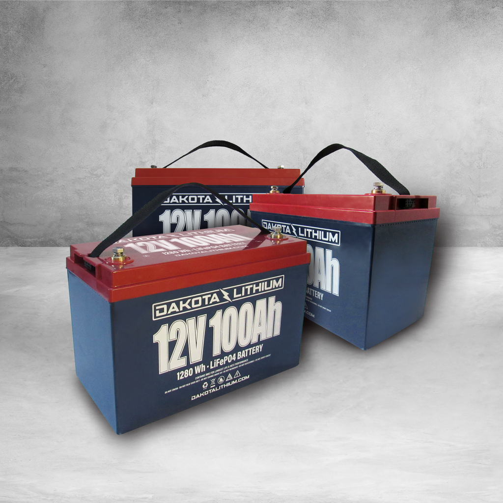 Dakota Lithium 36v 100Ah Deep Cycle Marine Trolling Motor Battery