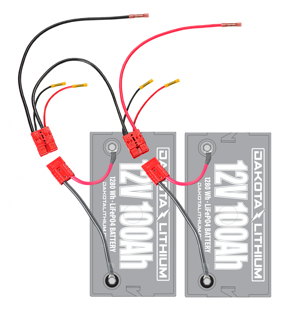 24 Volt Trolling Motor Connection Kit (With On Board Charging)