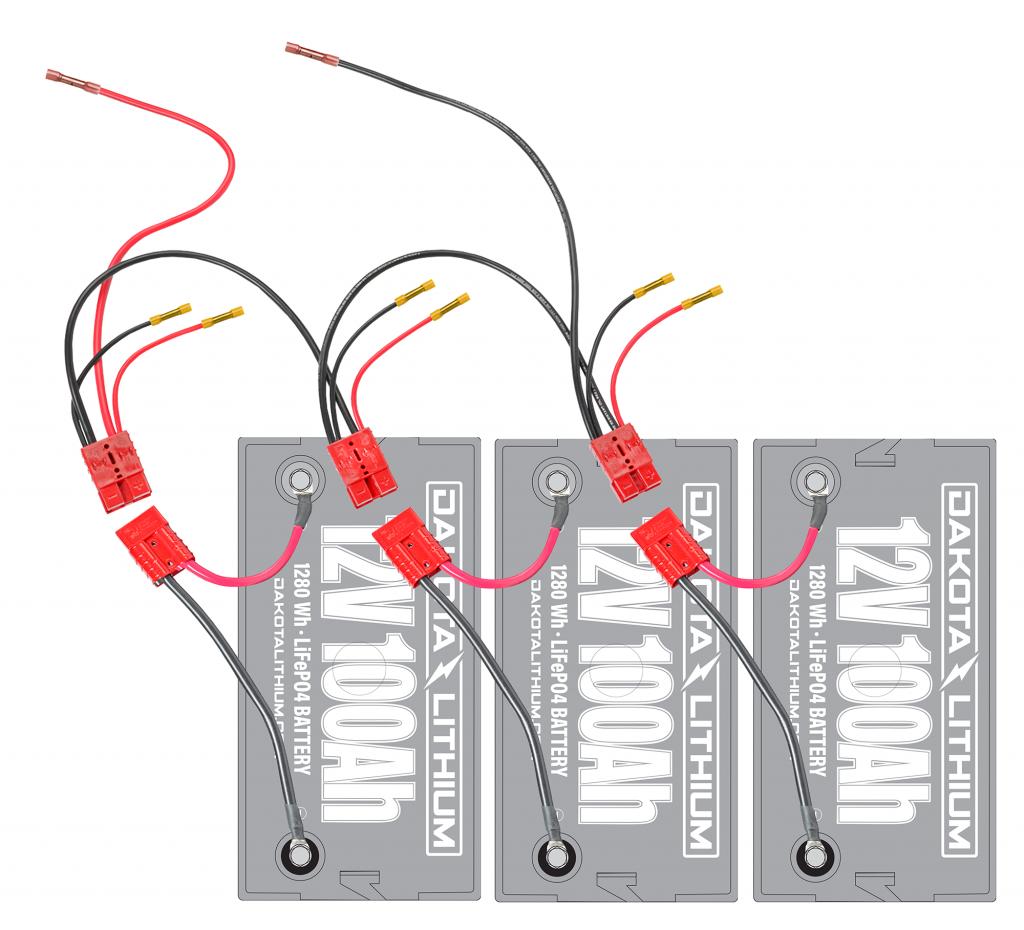 36 Volt Trolling Motor Battery Connection Kit by Connect EaseDakota Lithium Batteries