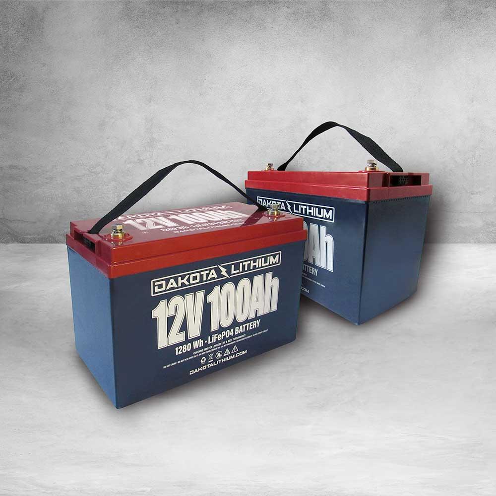 Dakota Lithium 24v 100Ah Deep Cycle Marine Trolling Motor Battery