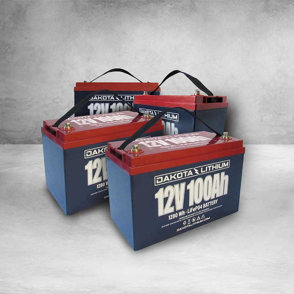 Dakota Lithium 48v Golf Cart Battery Set