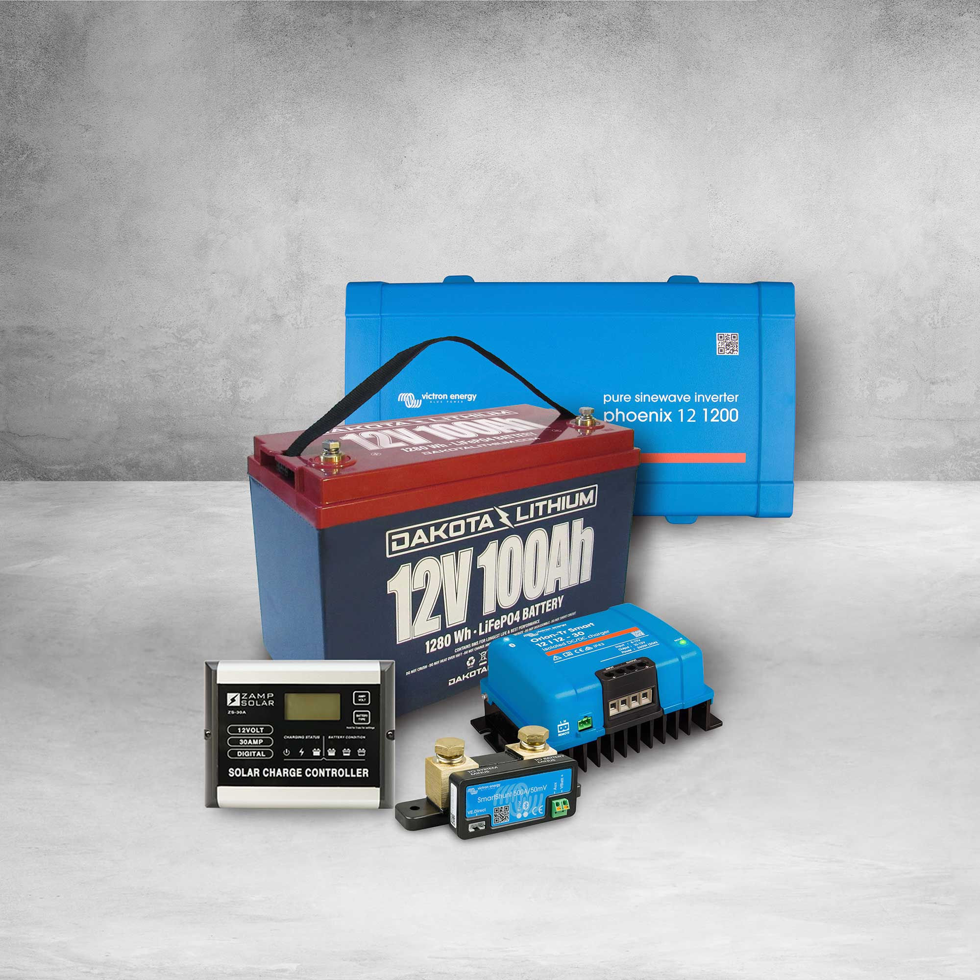 Dakota Lithium #Vanlife, RV Trailer & Truck 12v 100Ah Power System